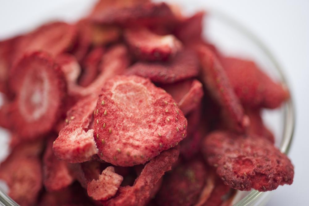 dried strawberries (shutterstock)
