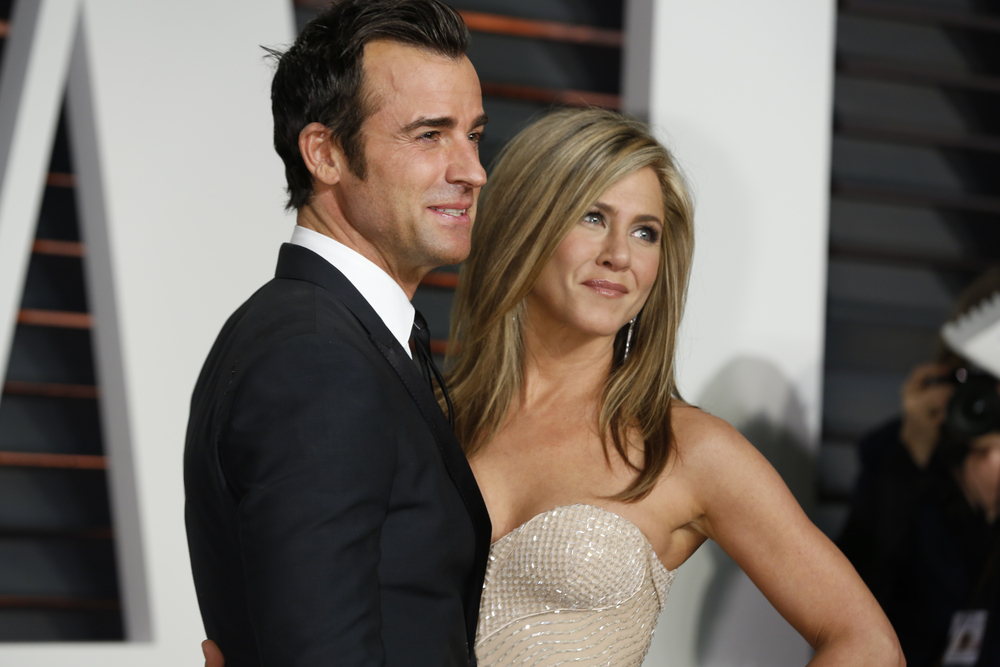 Jennifer Aniston and Justin Theroux (Helga Esteb / Shutterstock)