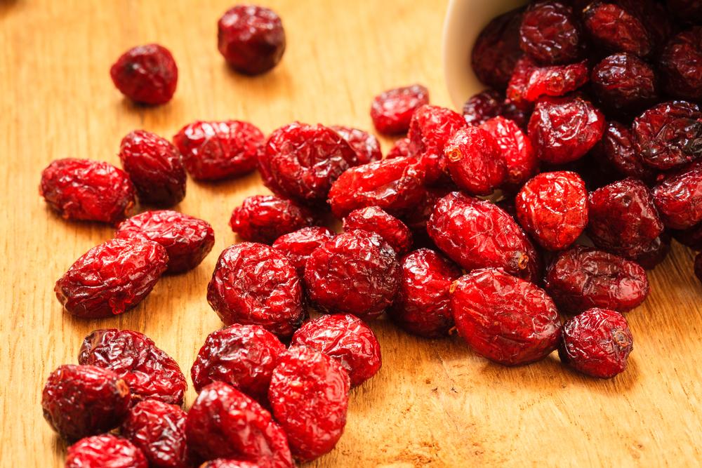 dehydrated cranberries (shutterstock)