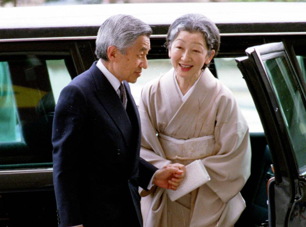 Emperor Akihito and wife (Northfoto / Shutterstock)