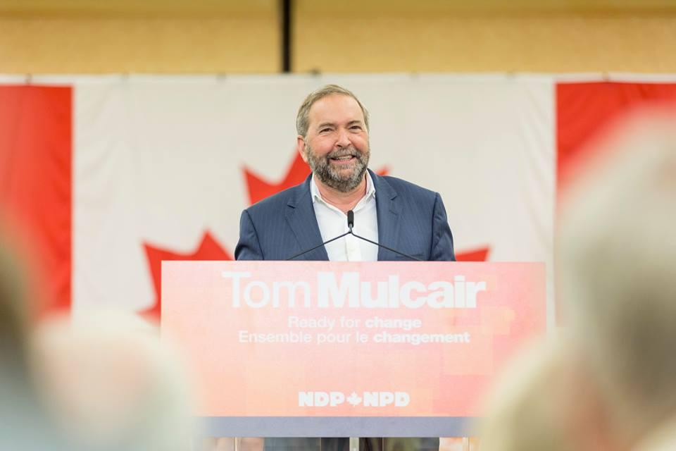 NDP Leader Tom Mulcair (Facebook)