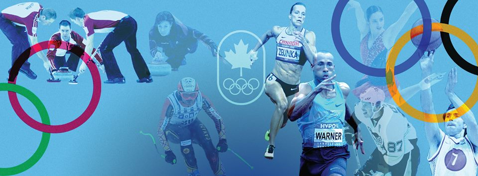 (Photo from the Canadian Olympic Committee's official Facebook page)
