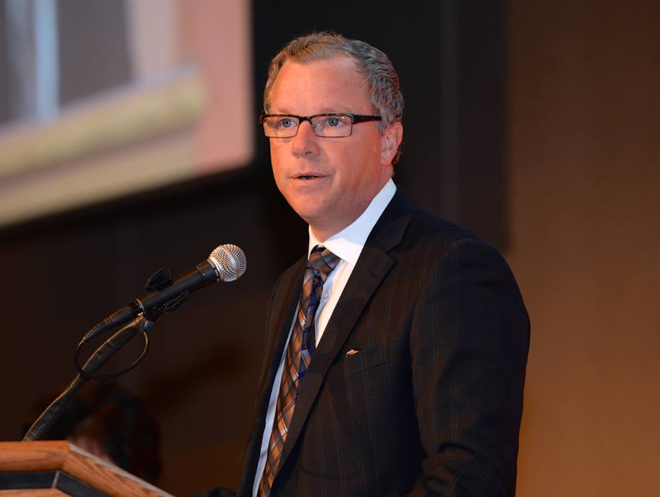 Brad Wall (Photo from Wall's official Facebook page)