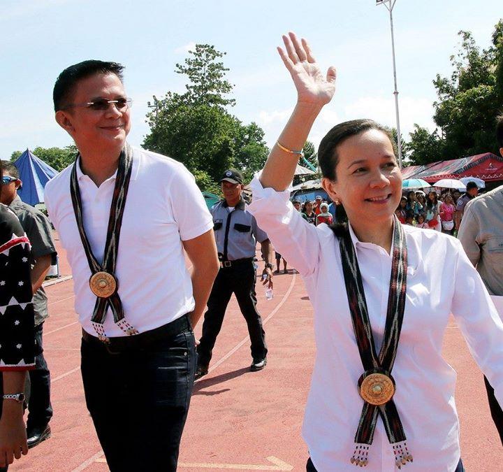 Senators Grace Poe and Chiz Escudero (Photo from Escudero's official Facebook page)