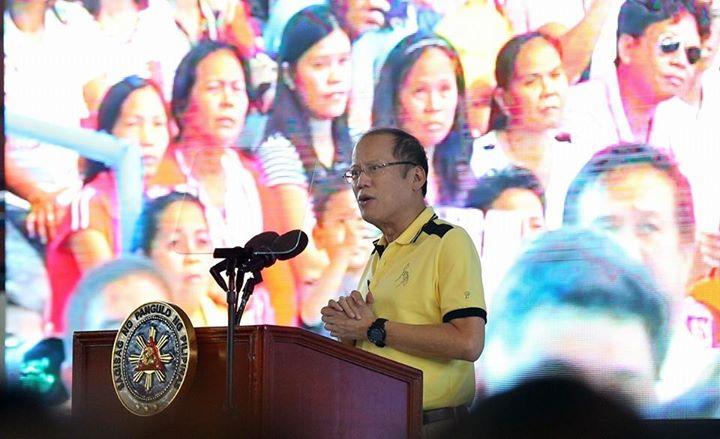 "President Benigno ""Noynoy"" Aquino III (Photo from Aquino's official Facebook page)"