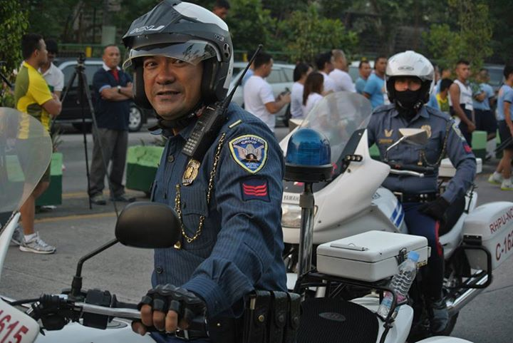 Philippine National Police-Highway Patrol Group (PNP-HPG) officers (Facebook photo)