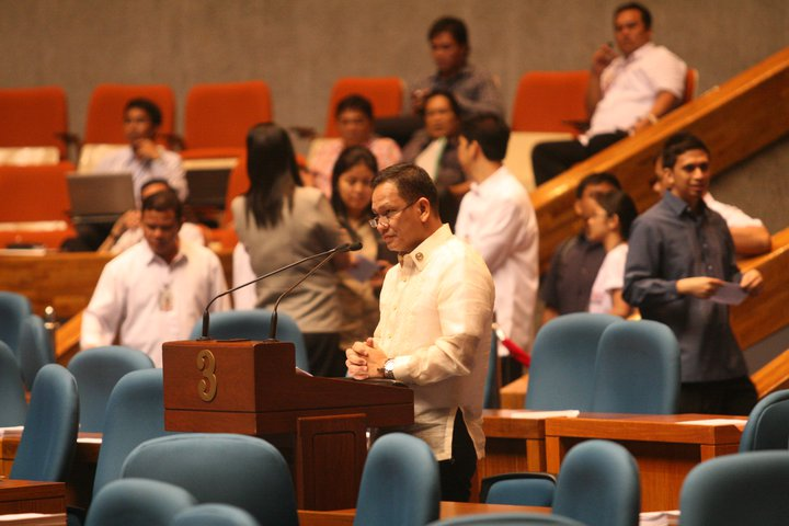 Newly-appointed DILG secretary Mel Senen Sarmiento (Photo from Sarmiento's Facebook page)