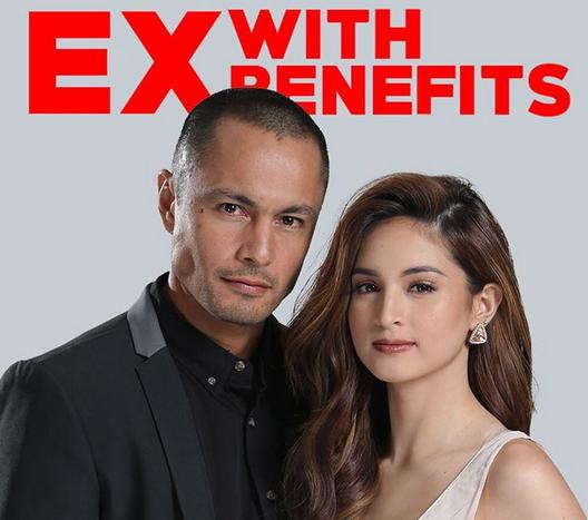 "Derek Ramsay and Coleen Garcia star in ""Ex With Benefits"" (Photo form Star Cinema)"