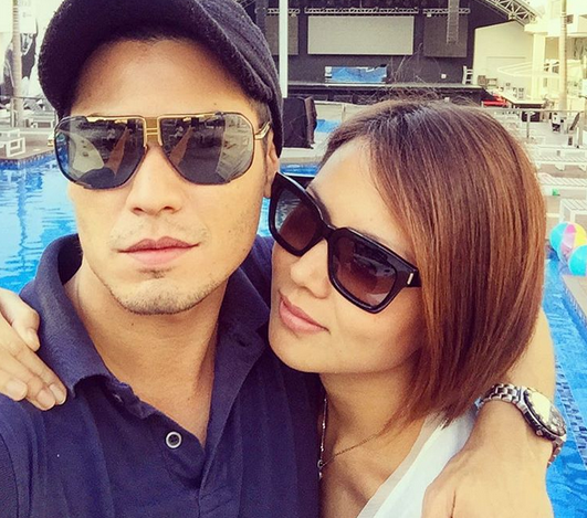 Fabio Ide  and girlfriend Bianca Manalo (Photo from Fabio's official Instagram account)