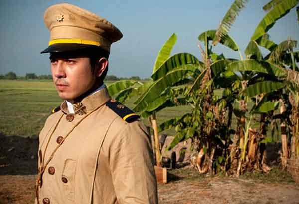 Paulo Avelino as Gen. Gregorio Del Pilar (Screenshot from theatrical trailer)
