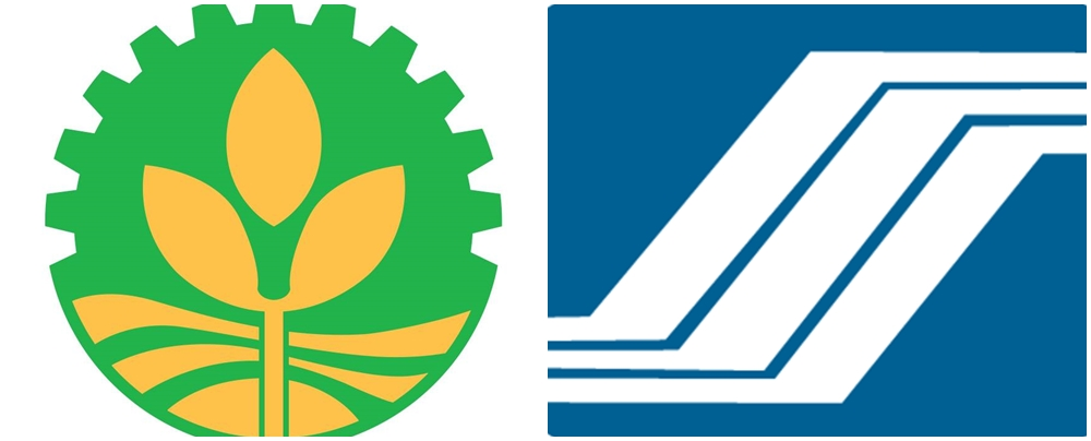 Landbank of the Philippines (LBP) and Social Security System (SSS) logos