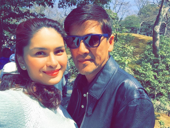 Eat Bulaga mainstay host Vic Sotto and financee Pauleen Luna (Photo from Pauleen's Instagram account)