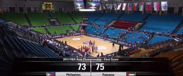 Philippines vs. Palestine (Screengrab from FIBA's video)