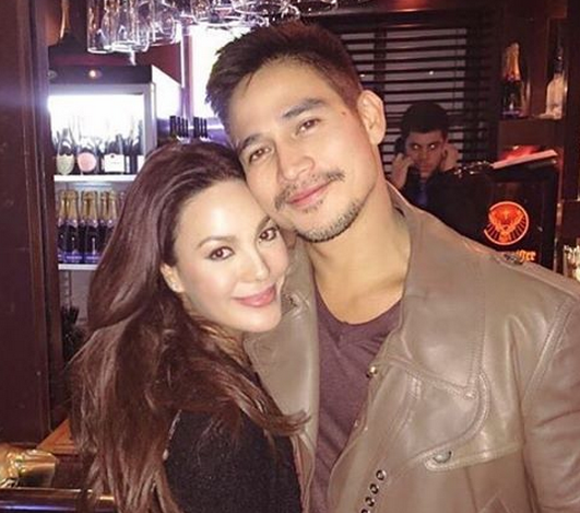 Former lovers Piolo Pascual and KC Concepcion (Photo from Eric John Salut's Instagram accoutn)