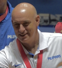 Gilas Pilipinas head coach Tab Baldwin (Wikipedia photo)