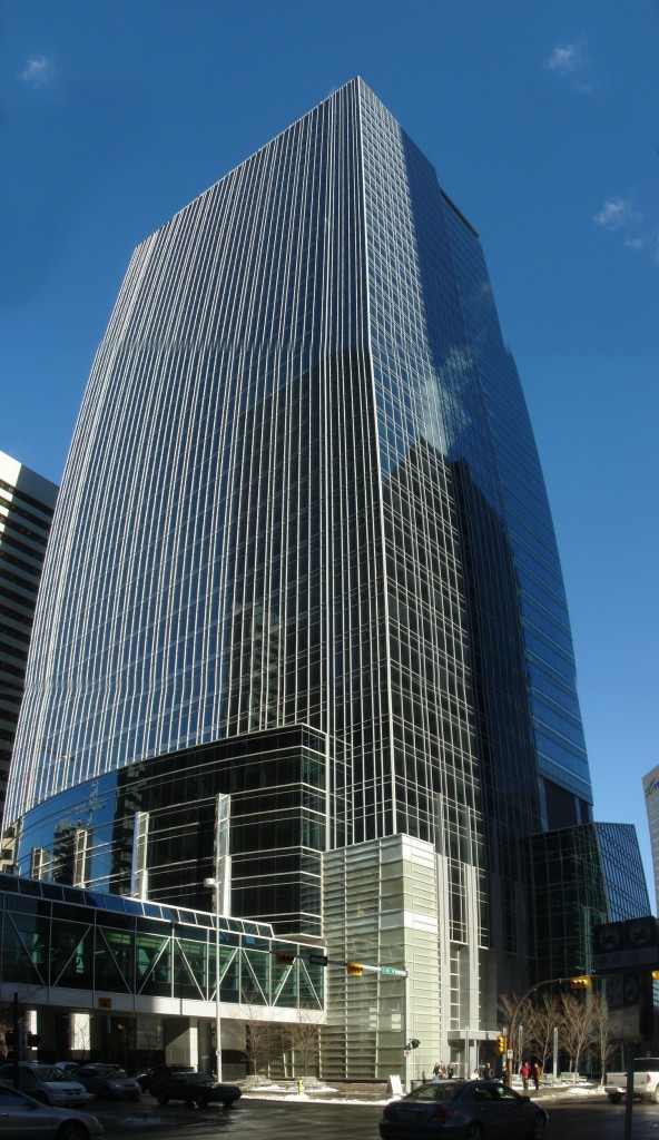 TransCanada Tower, head office in Calgary (Wikipedia photo)