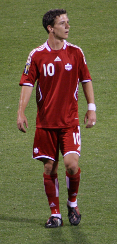 Will Johnson scored a game-tying goal in the second half to salvage a 1-1 draw.  (Photo from Wikipedia/Lord Bob)