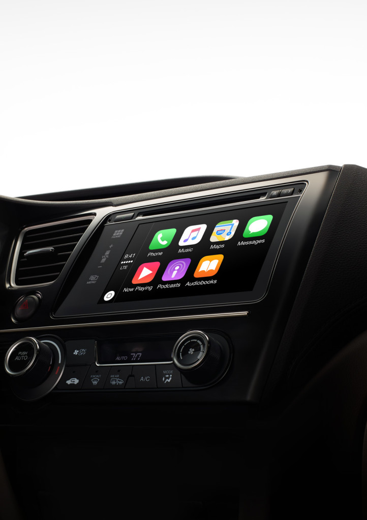 Apple's CarPlay (Photo from Apple)