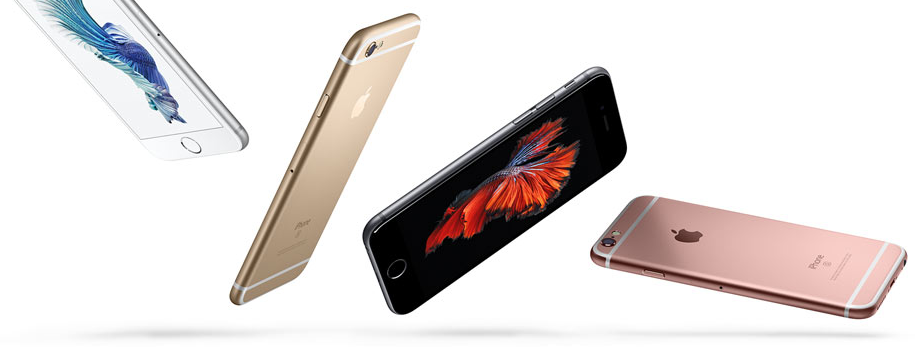 iPhone 6s (Photo from Apple)