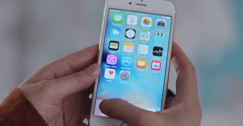 IPhone 6s (Screengrab from Apple's TV ad)