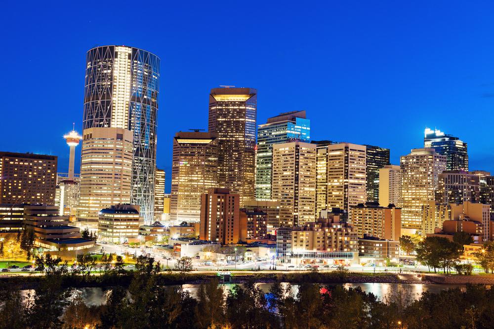 Calgary in Alberta, Canada (Shutterstock)