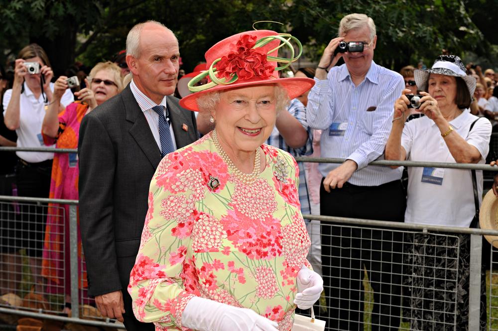 Her Royal Highness Queen Elizabeth II in Toronto in 2010 (Zoran Karapancev / Shutterstock)
