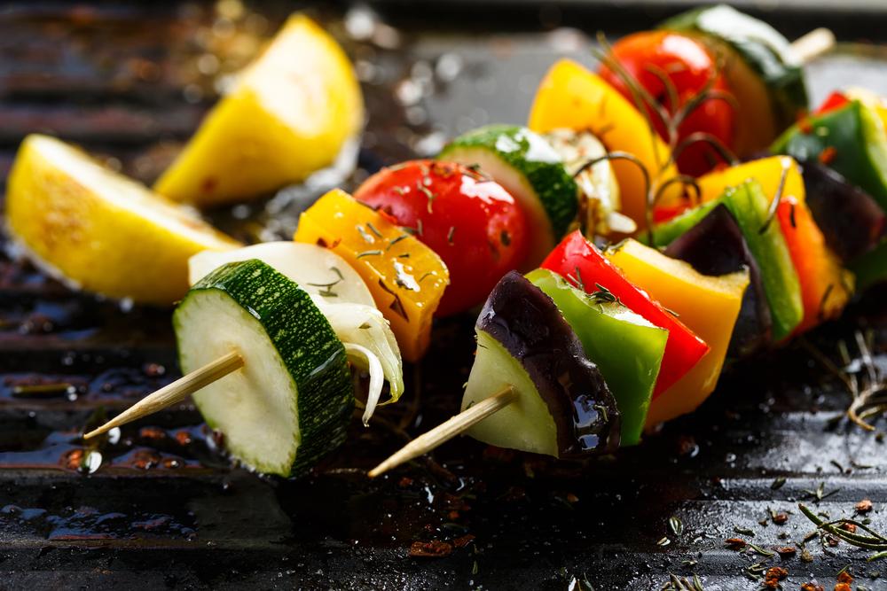 Grilled Vegetable Skewers (Shutterstock)