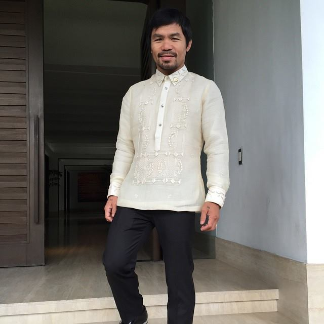 Sarangani Representative Manny Pacquiao (Photo from Pacquiao's official Facebook page)