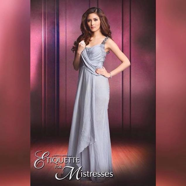 Kim Chiu will portray a mistress in her upcoming move, Etiquette for Mistresses. (Photo from Kim's official Facebook page)