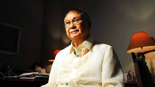 Late Senator Joker Arroyo (Photo from Even Demata's official Facebook page)