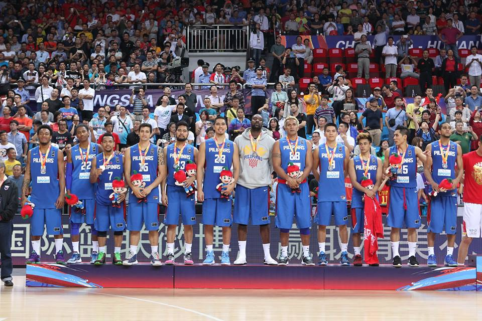 Gilas Pilipinas team (Photo taken from FIBA Facebook official fan page)