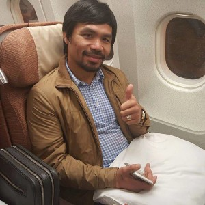 Eight-time world boxing champion and Saranggani representative Manny Pacquiao (Photo taken from Manny Pacquiao's Facebook fan page)
