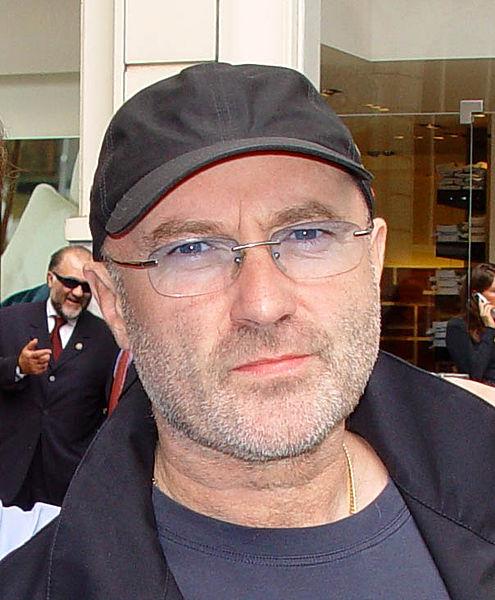 Phil Collins (Wikipedia photo)