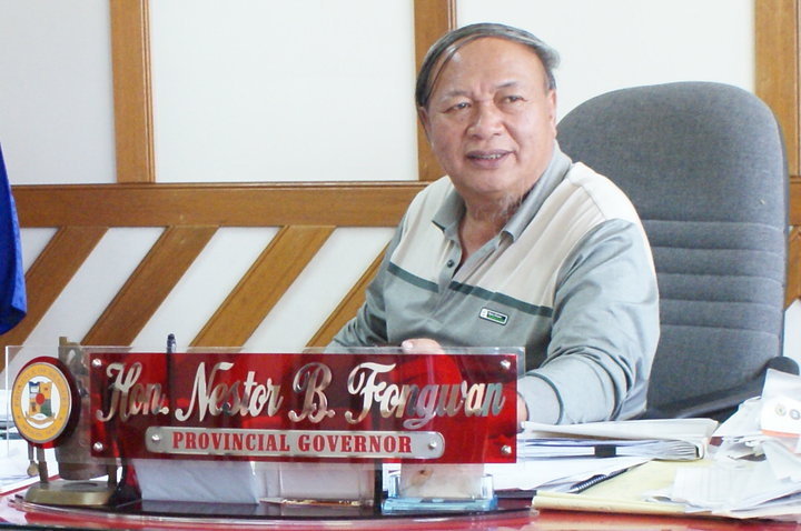Benguet Governor Nestor Fongwan (Facebook photo)