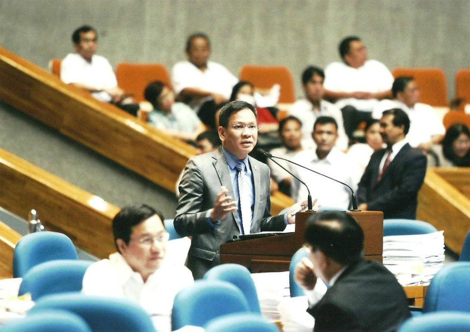 Interior Secretary Mel Senen Sarmiento (Facebook photo)