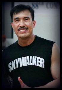 "Legendary PBA player Samboy ""The Skywalker"" Lim (Photo from Samboy Lim's official fan page)"