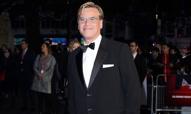 """Aaron Sorkin on his Steve Jobs movie: """"Mrs. Jobs, Tim Cook the CEO of Apple, Jony Ive haven't seen the movie. So they wouldn't know what's in the movie."""" (Photo from ShutterStock/Jonathan Hordle/Rex)"""