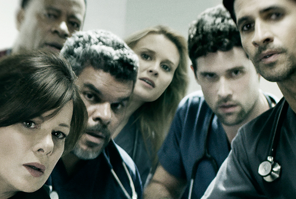 Code Black cast welcomes new member (Photo from CBS)