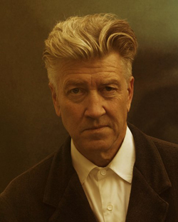 David Lynch (Photo from Lynch's official Twitter account)