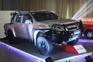 The Isuzu D-MAX 3.0 VGS Turbo (Photo courtesy of Mavelle P. Durian)