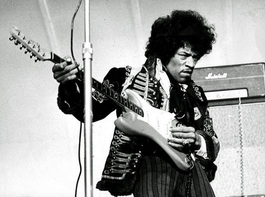 Jimi Hendrix (© SCANPIX SWEDEN, Stockholm, Sverige, Foto: SCANPIX Scanpix Code 20360)