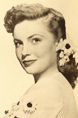 Joan Leslie has died at the age of 90 (Photo from Wikipedia/Dell Publishing)