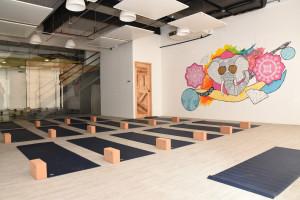 L!FE's Prana Room (Photo from L!FE Yoga Studio)