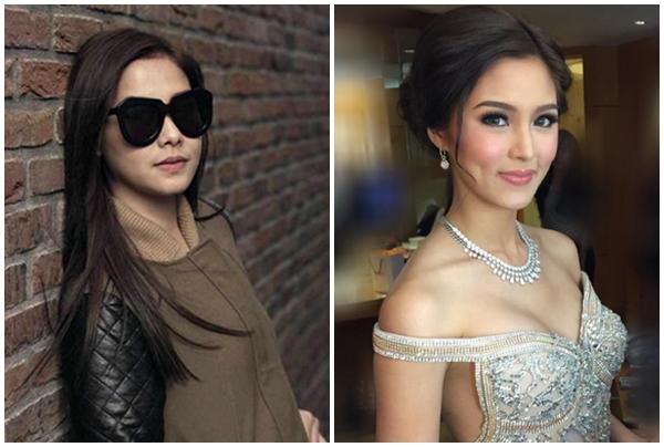Kapamilya stars Maja Salvador (L) and Kim Chiu (Instagram photos)