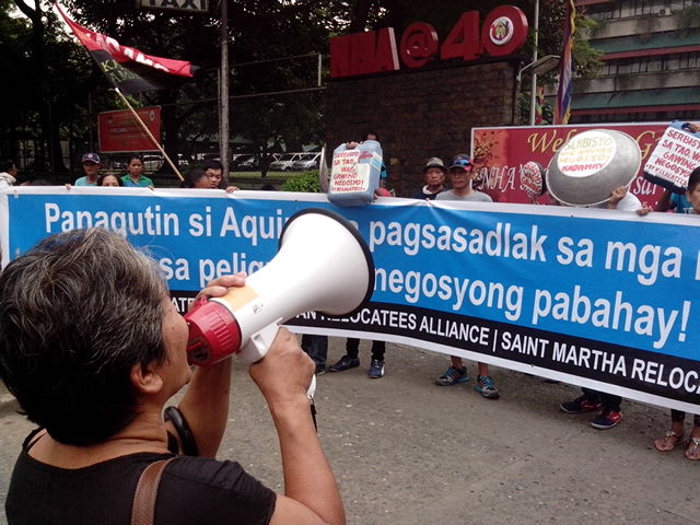 KADAMAY protesting against one of the Aquino administraiton's programs (Photo from KADAMAY)