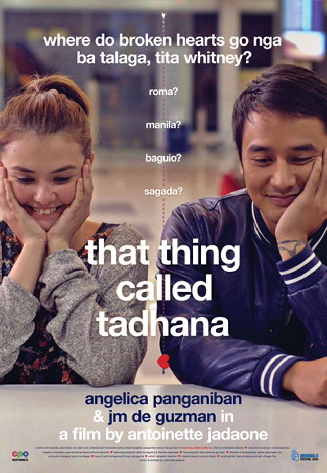 """That Thing Called Tadhana"" movie poster"