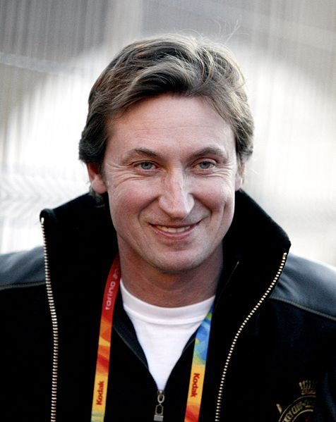 Wayne Gretzky (Photo from Flickr/Kris Krüg)