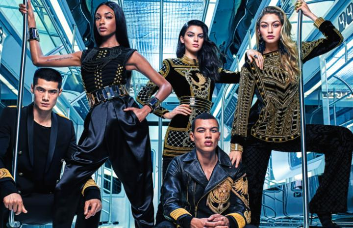 (Photo from the Balmain x H&M collection)