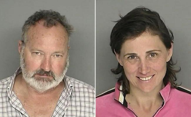 American actor Randy Quaid and wife Evi (Photo from the Santa Barbara County)