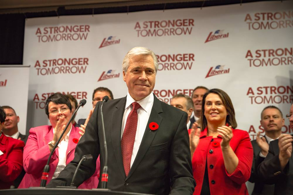 Dwight Ball,  Leader of the Liberal Party of Newfoundland (Photo from Facebook)
